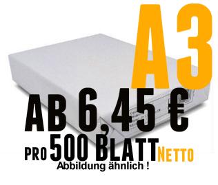 Kopier-und Druckerpapier DinA3 motif copy 297x420mm BB 80 g weiß GK 500