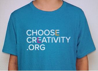 Choose Creativity Kids T-Shirt