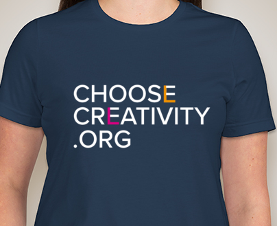 Choose Creativity Women's Tee