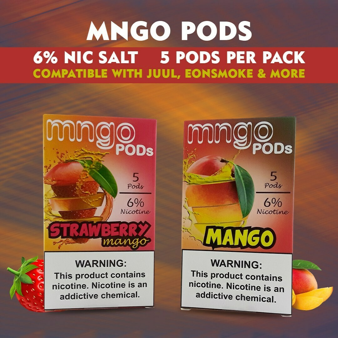 Mngo Pods | Best Juul Compatible Pods
