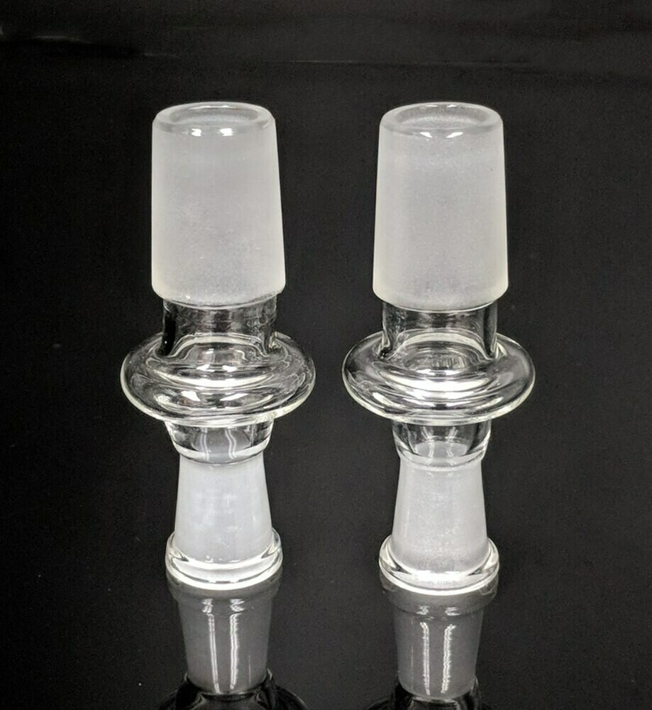 10MM FEMALE TO 19MM MALE ADAPTER - 5CT