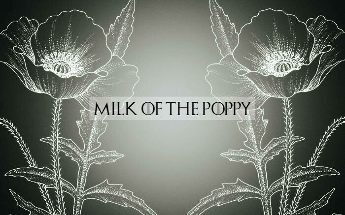 Milk of the Poppy (Strawberry & Cream)