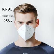 KN95 Surgical Face Mask Anti Pollution Virus Mouth Mask Particulate Respirator