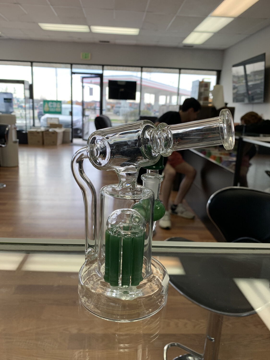 """Waterpipe With 8 Arm Perc 7"""""""