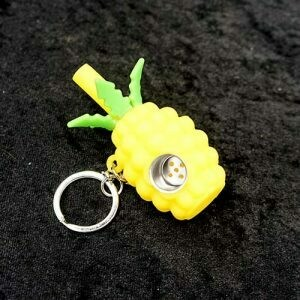 Pineapple Keychain Pipe