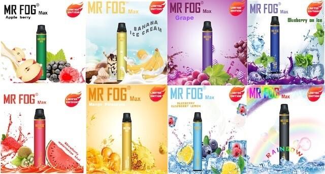 Mr Fog Max 1000 Puff