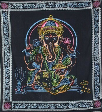 Tie Dye Ganesha