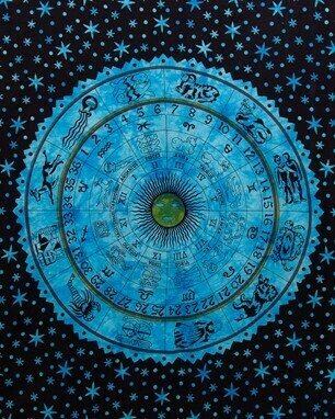 Zodiac Design Tapestry