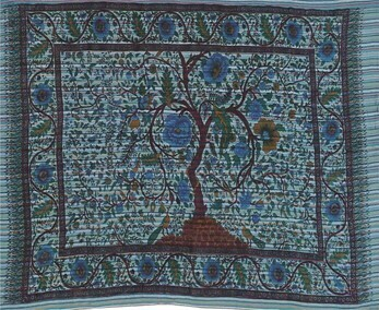 Tree Of Life Wall Hanging On Stripe