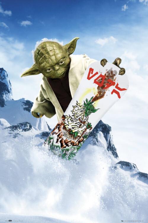 Yoda Snowboard