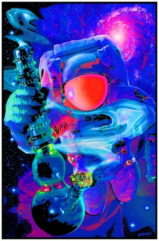 Spaced Out Blacklight