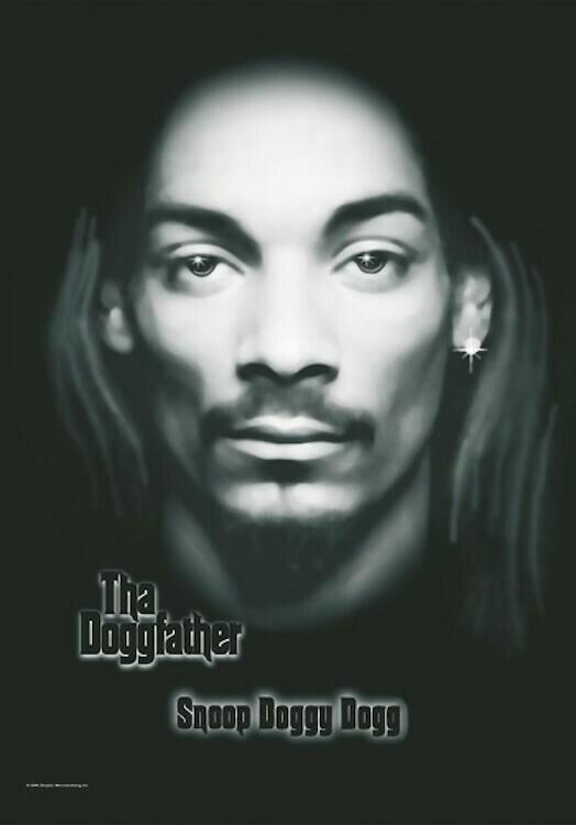 Snoop Dog Fabric Poster Flag
