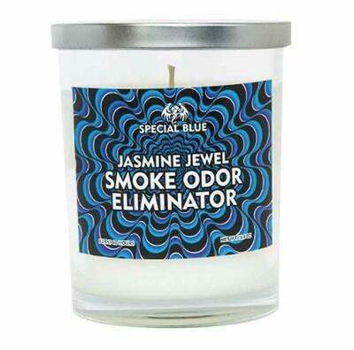 Special Blue Odor Eliminator Candle -  Garden Exotica