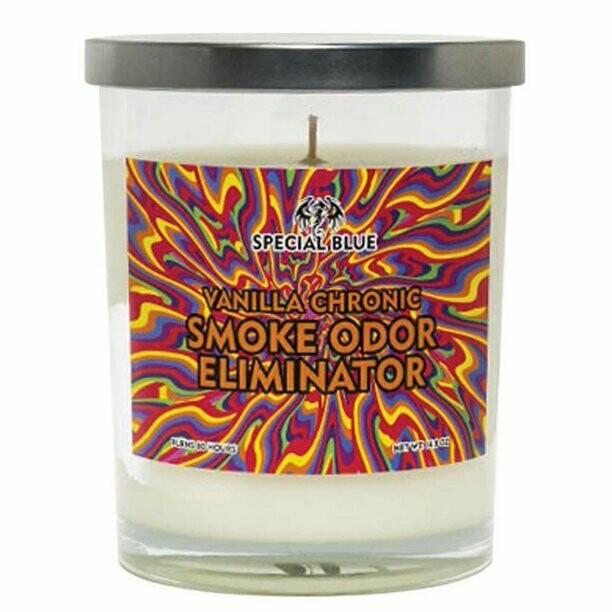 Special Blue Odor Eliminator Candle - 14.8oz/ Vanilla Chronic
