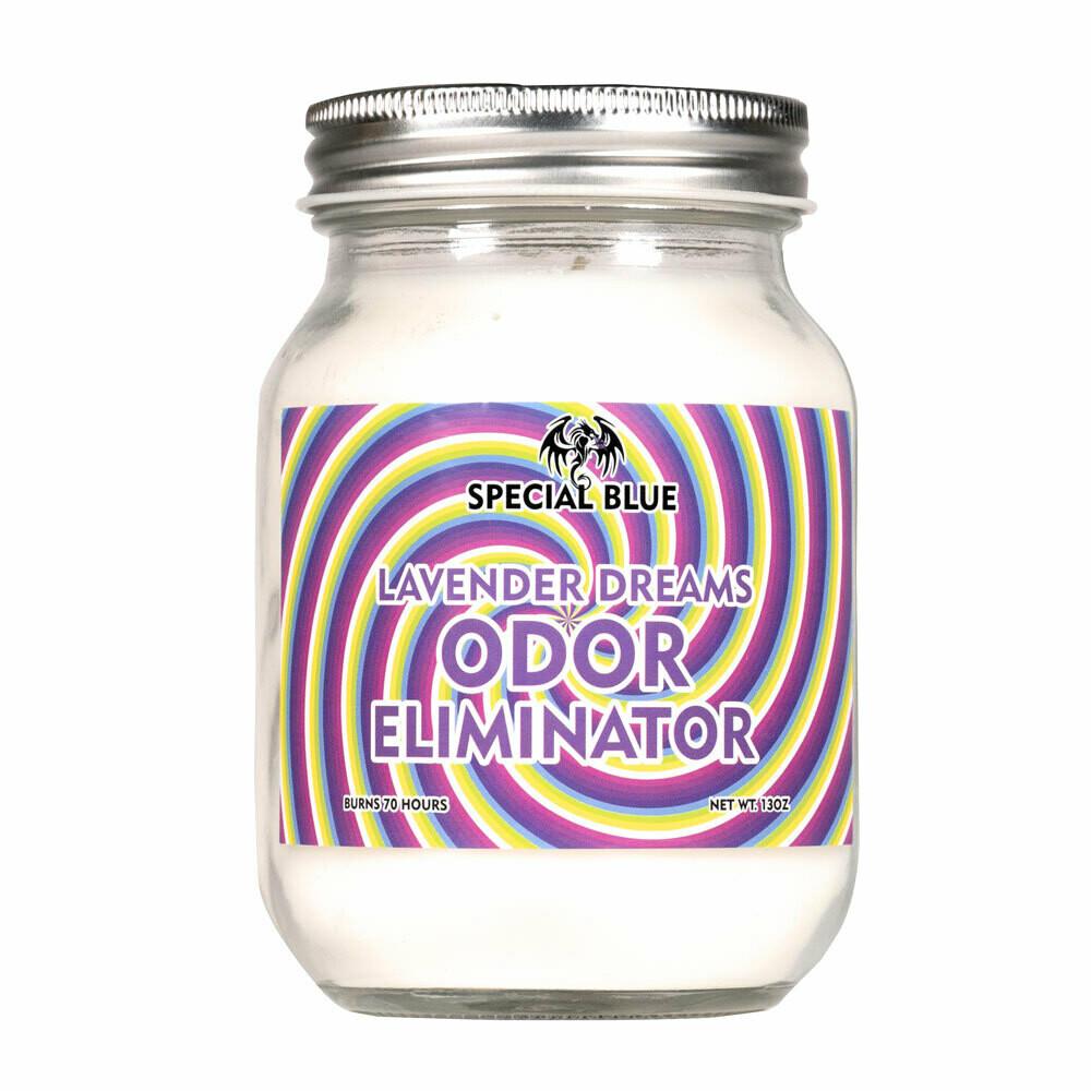 Special Blue Odor Eliminator Candle - 14.8oz/ Lavender Dreams - 80hr Burn Time