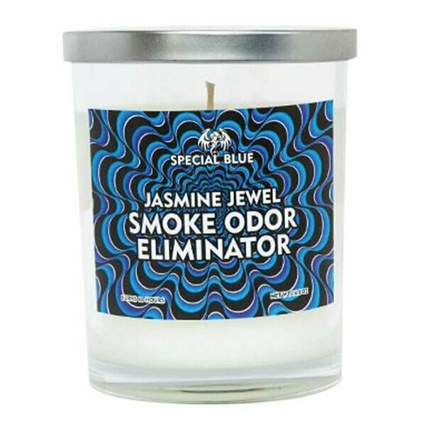 Special Blue Odor Eliminator Candle - 14.8oz / Jasmine Jewel