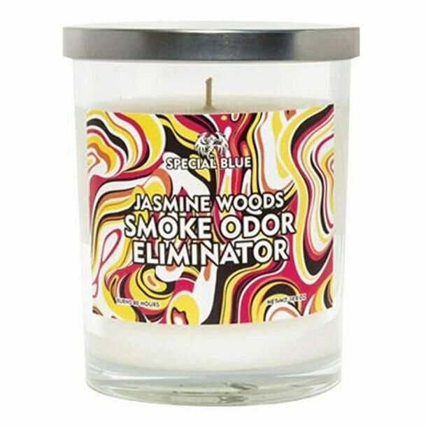 Special Blue Odor Eliminator Candle - 14.8oz / Jasmine Woods
