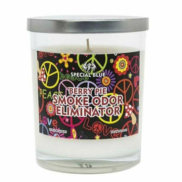 Special Blue Odor Eliminator Candle - 14.8oz / Berry Pie