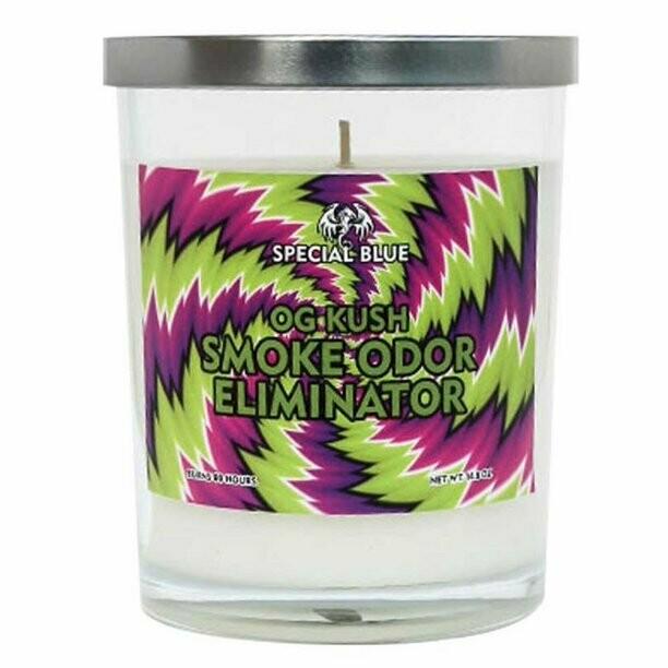 Special Blue Odor Eliminator Candle - 14.8oz / OG Kush