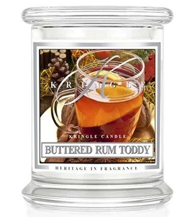 Small 4.5 oz Candle - Buttered Rum Toddy