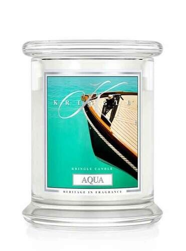 Small 4.5 oz Candle - Aqua