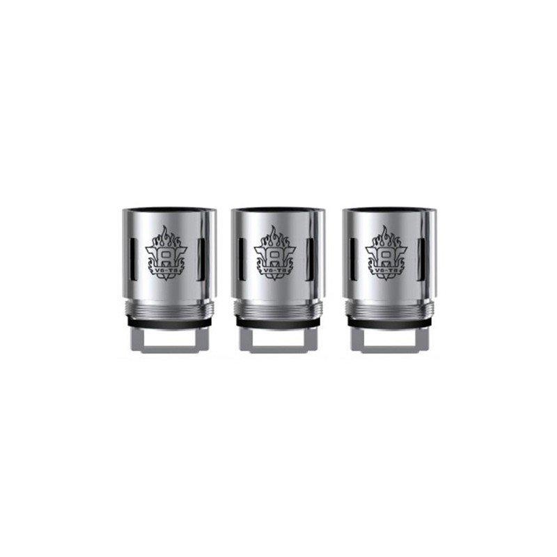 SMOK V8-T6 COILS FOR TFV8 TANK - PACK OF 3