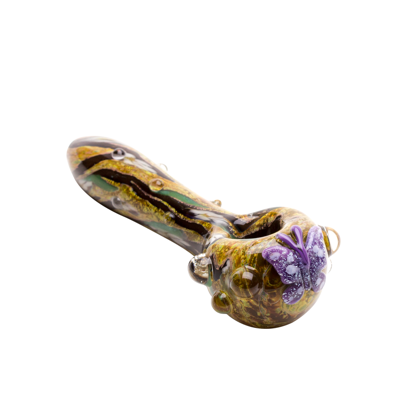 Spoon Pipe - Viola Butterfly - Small