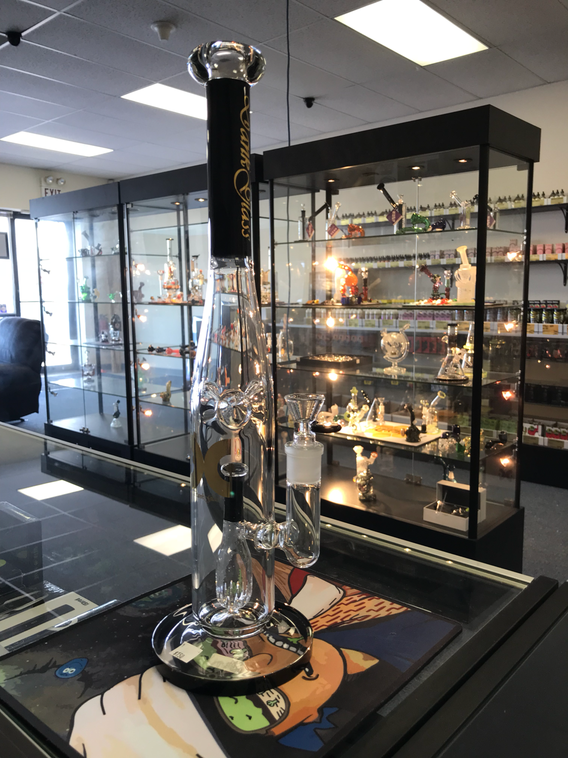 For the baseball lover.   Dank Glass with single perc and ice catcher.