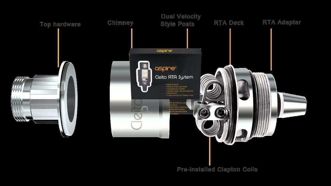 Aspire - Cleito RTA System
