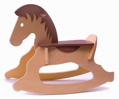 Wooden Rocking Horse - Deluxe Edition