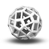Zometool Bälle Weiß/White im 30er oder 100er Pack