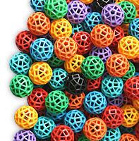 Zometool Verbindungskugeln in Farbe