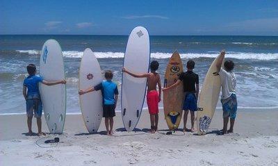 One Week Summer Surf Camp