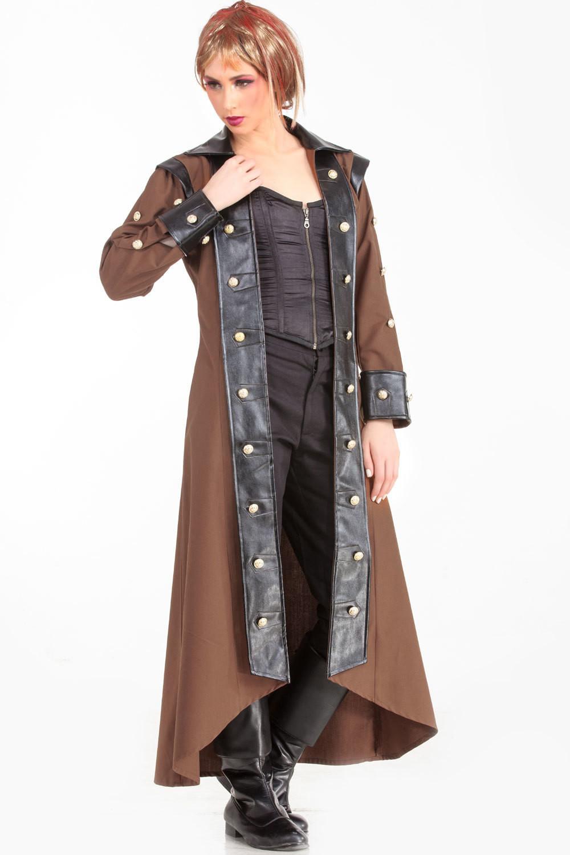 Lieutenant Estfeld Steampunk Trench Coat