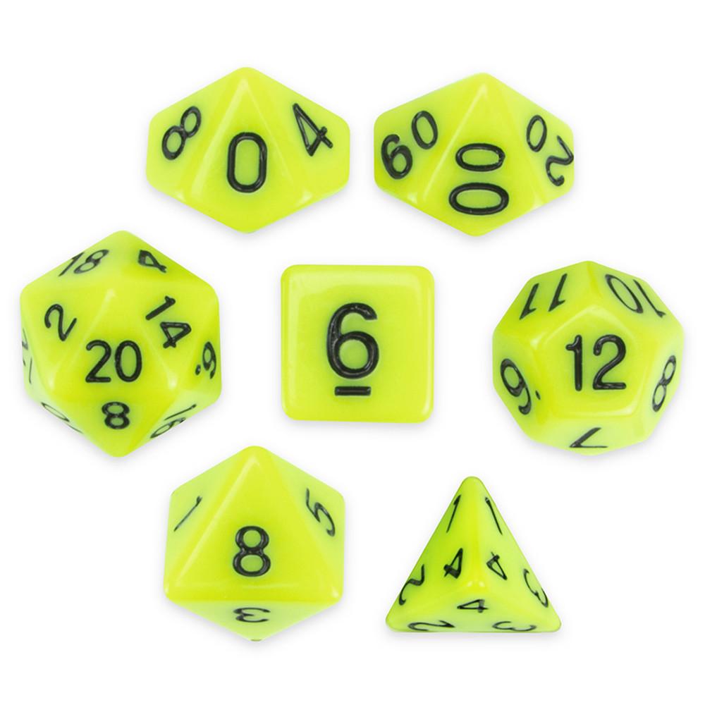 7 Die Polyhedral Set,  Sticky Ichor