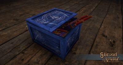 Replenishing Blue Elysium Candle Fireworks Box - Shroud of the Avatar