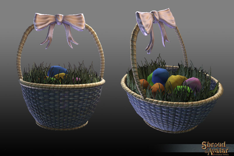 Replenishing Confetti Eggs Basket 2018 - Shroud of the Avatar