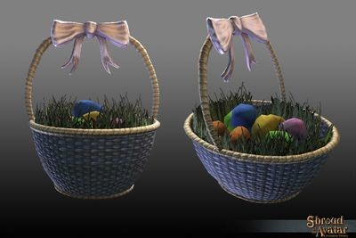 Replenishing Confetti Eggs Basket 2018 - Shroud of the Avatar