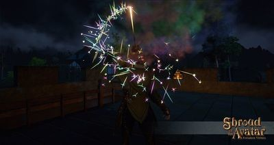 Replenishing Rainbow Sparkler Fireworks Box - Shroud of the Avatar