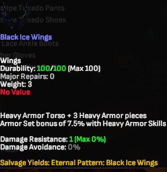 Black Ice Wings - Shroud of the Avatar