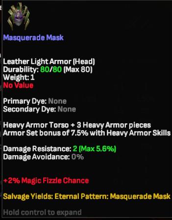 Masquerade Mask - Shroud of the Avatar