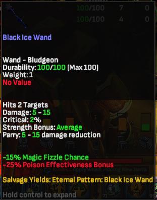 Black Ice Wand - Shroud of the Avatar