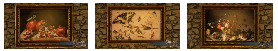 Insect Painting SET (A, B, AND C all 3) - Shroud of the Avatar