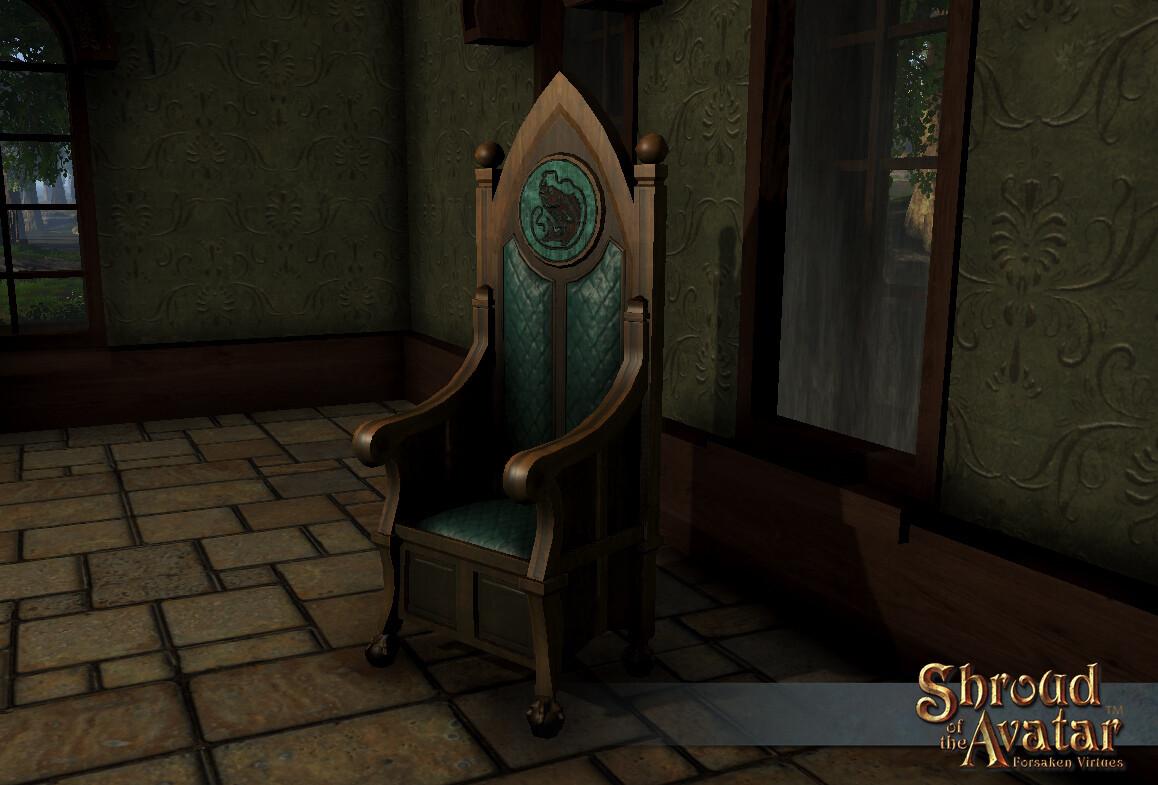 Fish Throne - Shroud of the Avatar