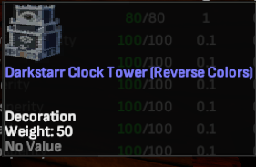 Darkstarr Clocktower (Reverse Colors)  - Shroud of the Avatar