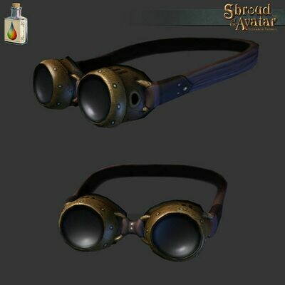 Brown Steampunk Goggles - Shroud of the Avatar