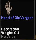 Hand of Gix Vargach (SotA Developer) - Shroud of the Avatar