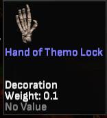 Hand of Themo Lock - Shroud of the Avatar