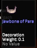 Jawbone of Para - Shroud of the Avatar
