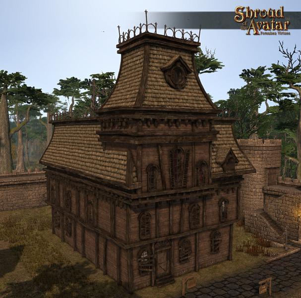 Gothic Mansion Three-Story (Village Home) - Shroud of the Avatar